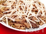 Рецепта Талятели с маслинова паста и пармезан